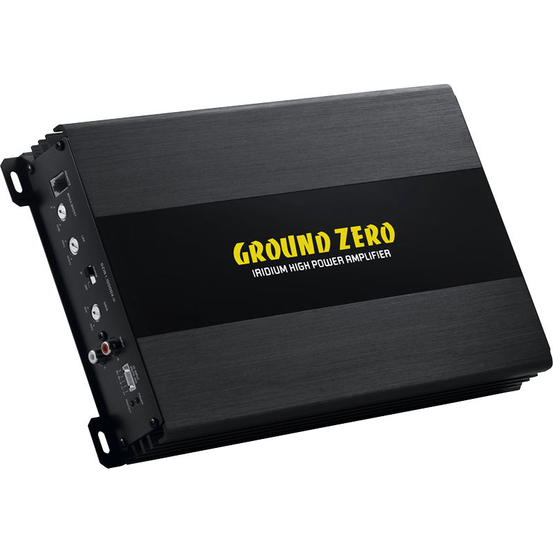 Ground Zero monoversterker GZIA1.1000DX-II 350W/1000W