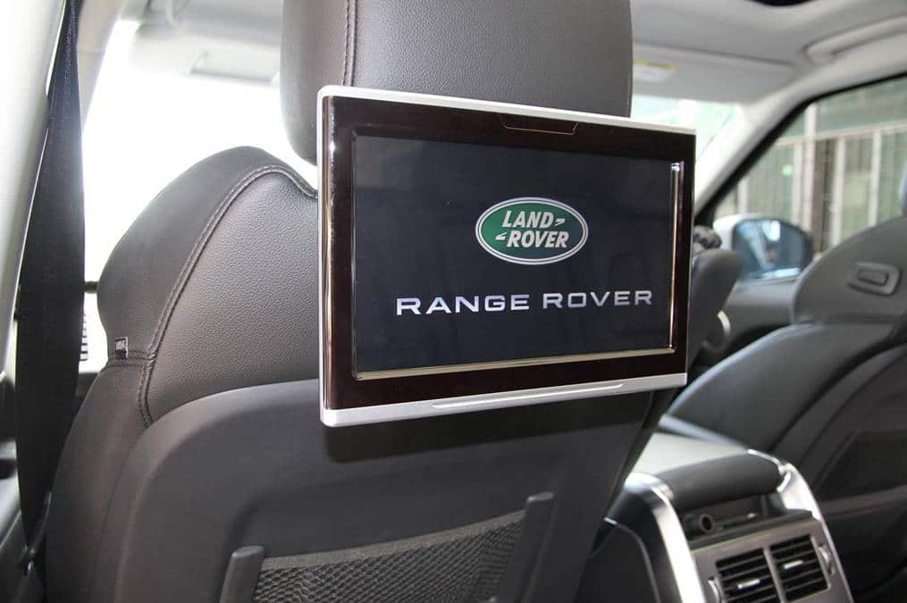 Land Rover Android Rear entertainment 10,1