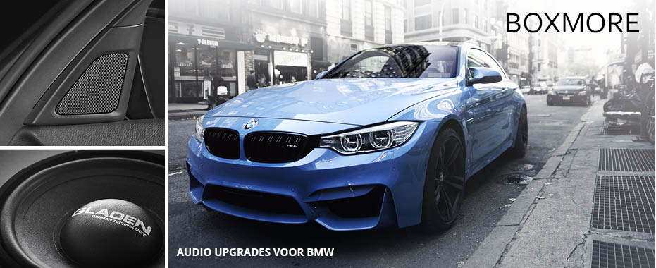 BMW Audio Upgrades