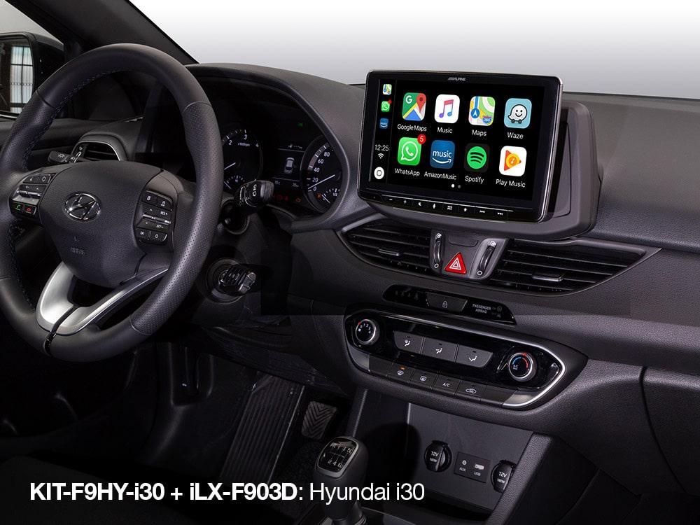 Alpine ILX-F903D Hyundai I30 vanaf 2017