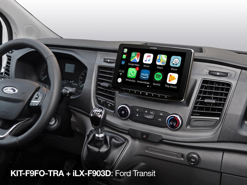 Alpine ILX-F903D Ford Transit Custom vanaf 2018