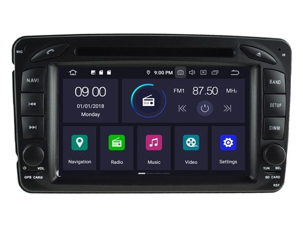 Porsche Android Rear entertainment 10,1