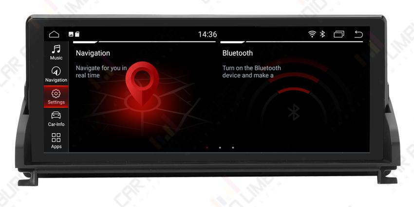 BMW ANDROID 10.0 NAVI Z4 E89 (CIC of zonder origineel scherm )