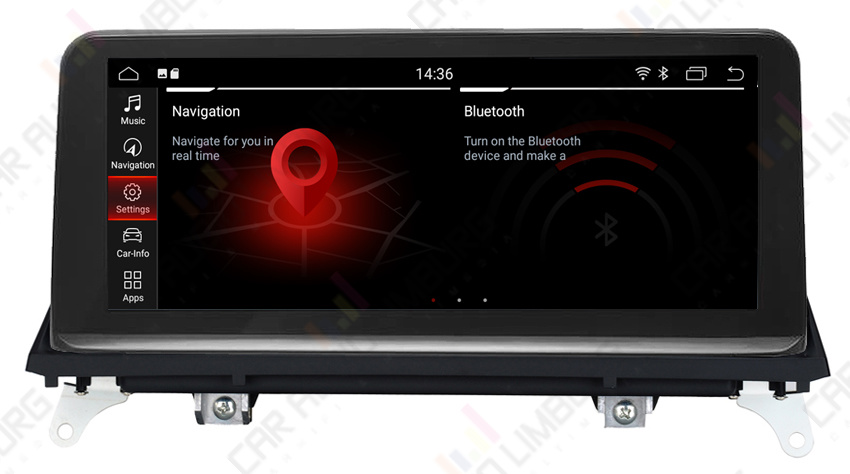 BMW ANDROID 10.0 NAVI X5/X6 SERIE (CIC)