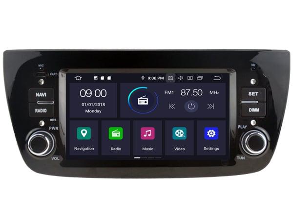 Fiat Android 9.0 Navigatie voor Fiat Doblo