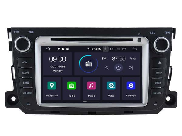 Mercedes Android 10.0 Navigatie voor Mercedes Smart