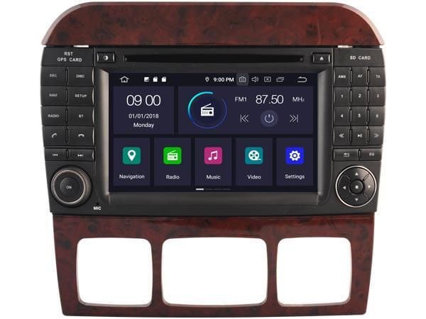 Mercedes Android 10.0 Navigatie voor Mercedes S-Klasse