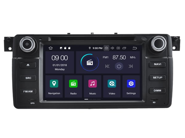 BMW ANDROID 9.0 NAVI 3 SERIE E46