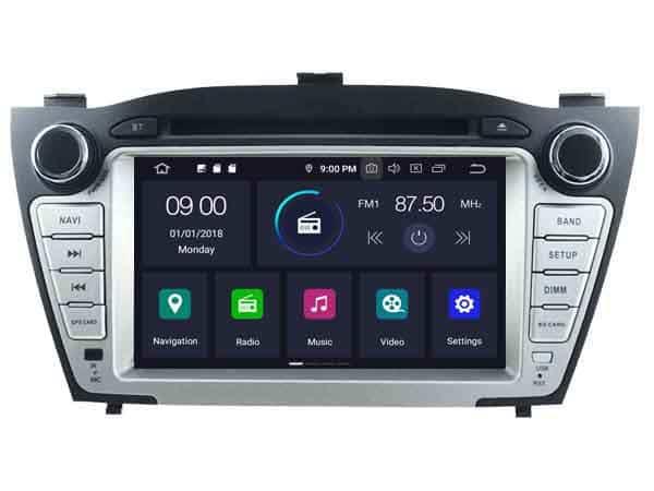 Hyundai Android 10.0 Navigatie voor Hyundai IX35 vanaf 2009