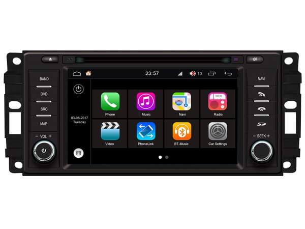 CAL-W202 Android Navigatie S200 Chrysler